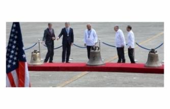 ABD savaş ganimeti 3 çanı Filipinler'e iade etti