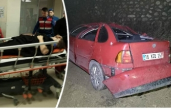 Bursa'da manzara keyfi hastanede bitti