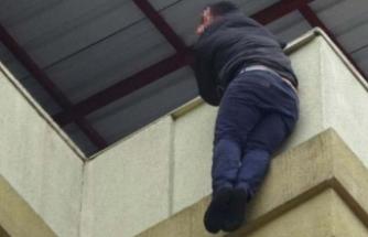 Bursa'da kaymakamlık binasında intihar girişimi!