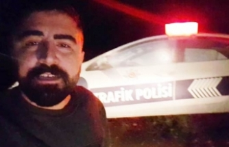 Bursa'da maket polis aracını gerçek sanınca bakın ne yaptı?