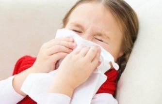 Çocuklarda üst solunum yolları enfeksiyonuna dikkat!