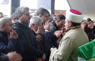 Hamam faciasında ölen vatandaşa son görev