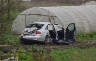 Kahraman Tazeoğlu trafik kazası geçirdi