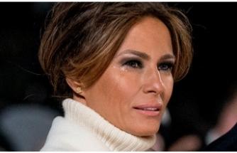 Melania Trump'tan eşine destek