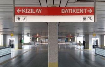 Metro istasyonunda  korkunç olay