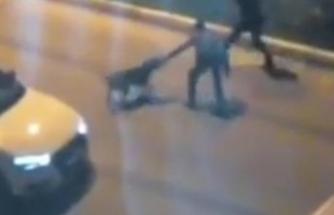 Vicdansızlar! Sokak köpeklerine kemerle işkence