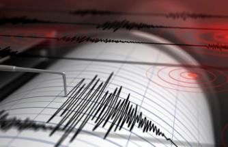 5,7 büyüklüğünde depremle sallandı