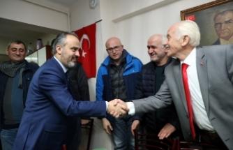Başkan Aktaş, Sağır ve Dilsizler Derneği'ni ziyaret etti