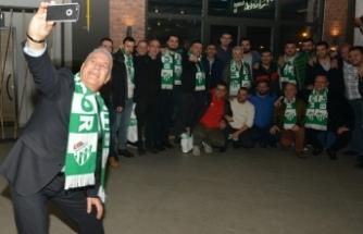 Bozbey'den Bursaspor'a destek çağrısı