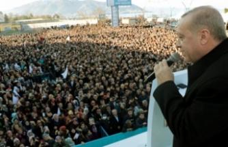 Cumhurbaşkanı Erdoğan: Yeniden bir dirilişi ortaya koymak istiyoruz