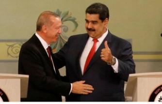 Erdoğan'dan Maduro'ya: Dik dur kardeşim, yanındayız