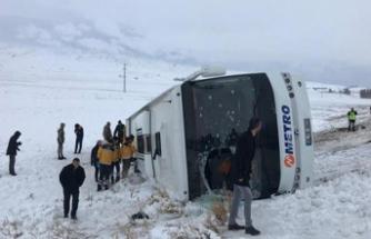 Sivas'ta trafik kazası: Çok sayıda yaralı var