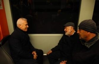 Bozbey vatandaşların sorunlarını Bursaray'da dinledi!