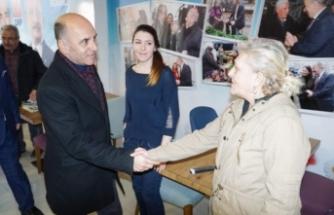 Bursa'da AK Partili adaydan CHP seçim ofisine ziyaret