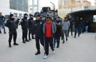Bursa'daki dev operasyonda 121 tutuklama