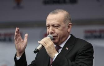 """Erdoğan'dan önemli açıklamalar! """"Buradan müjdeyi veriyorum!"""""""