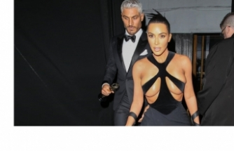 Kim Kardashian'ın dikkat çeken tercihi