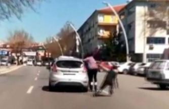 Ankara'da ölümle dans! Görenler panik yaşadı