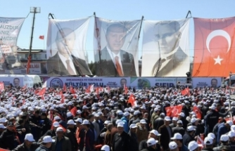 Cumhur İttifakı'nın ikinci ortak mitingi Ankara'da