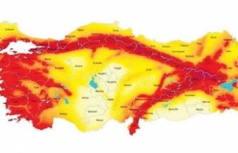 Deprem haritası değişti! Hangi il ne kadar tehlikede