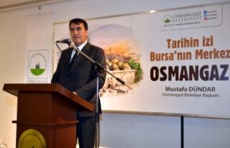 """Dündar: """"Muhtarlarımızın Osmangazi'de emeği çok büyük"""""""