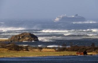 Norveç'teki cruise gemisinden 397 kişi kurtarıldı