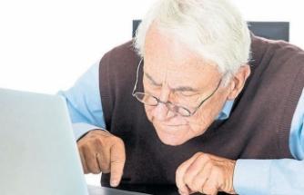 Yaşlıların internet kullanımı 3.5 kat arttı