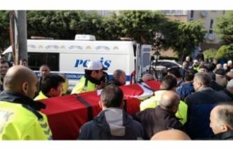 Bursa'da intihar eden polis memuru toprağa verildi