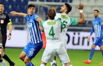 Bursaspor İstanbul'dan 1 puanla döndü!