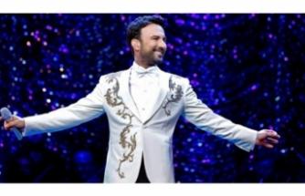 Megastar Tarkan'dan milyon dolarlık konser