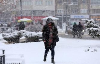 Meteoroloji'den kar uyarısı var