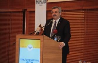 """""""Yerli üretim merkezi Bursa'ya en yakın noktada olmak zorunda"""""""