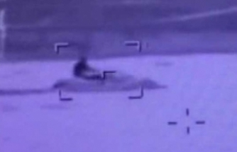 Bodrum'u alarma geçiren jet-ski!