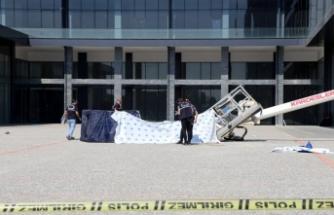 Bursa'da devrilen vincin operatörügözaltına alındı