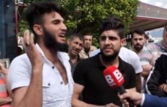 """Bursa'da """"Kafa keserim"""" diyen şahıs gözaltında"""