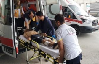 Bursa'da sokak ortasında silahlı saldırı dehşeti!