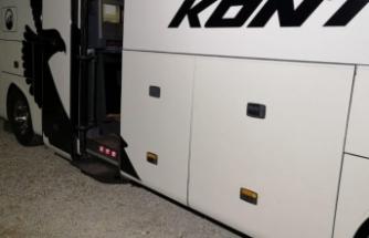 Bursa'ya gelen otobüste şok! Bagajından...