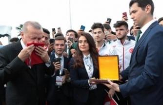"""Erdoğan Samsun'da konuştu: """"Güvenlik ve ekonomide saldırı dalgası bitmiş değil"""""""