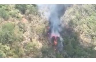 Meksika'da askeri helikoper düştü!