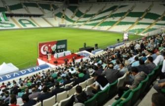 Bursaspor'da heyecan başladı