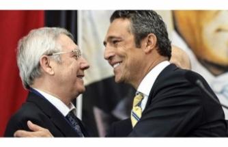 Fenerbahçe'de seçim sonrası bir ilk! Ali Koç ve Aziz Yıldırım...