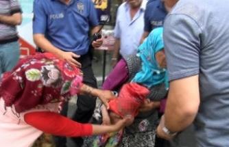 Kan donduran tehdit: Çocuğu yere çarparım
