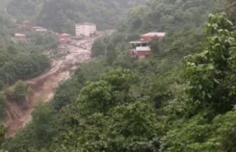 Trabzon'da taşkın: 1 ölü, 2 kayıp
