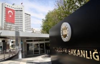 Türkiye'den Çipras'a yanıt