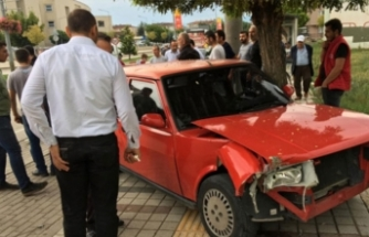 Bursa'da yaşlı adam hastane çıkışında hastanelik oldu!