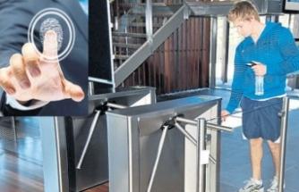 Spor salonuna parmak iziyle girenler dikkat!
