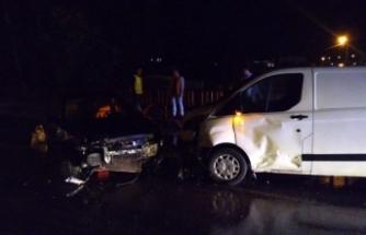 Bursa'da aşırı yağış kazaya neden oldu: 1 yaralı