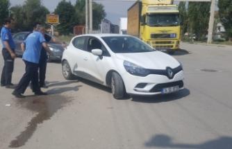 Bursa'da yayaya çarpan kadın sürücü gözyaşlarına boğuldu