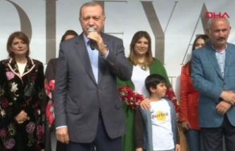 """Cumhurbaşkanı Erdoğan: """"Şehitlerimizin kanı yerde kalmayacak"""""""