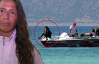 Dalış rekortmeni Salda Gölü'nde yüzenleri uyardı!